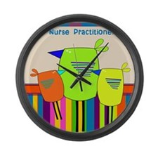 Nurse Practitioner Large Wall Clock