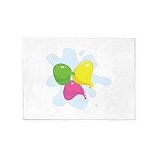 Water Balloon 5'x7'Area Rug