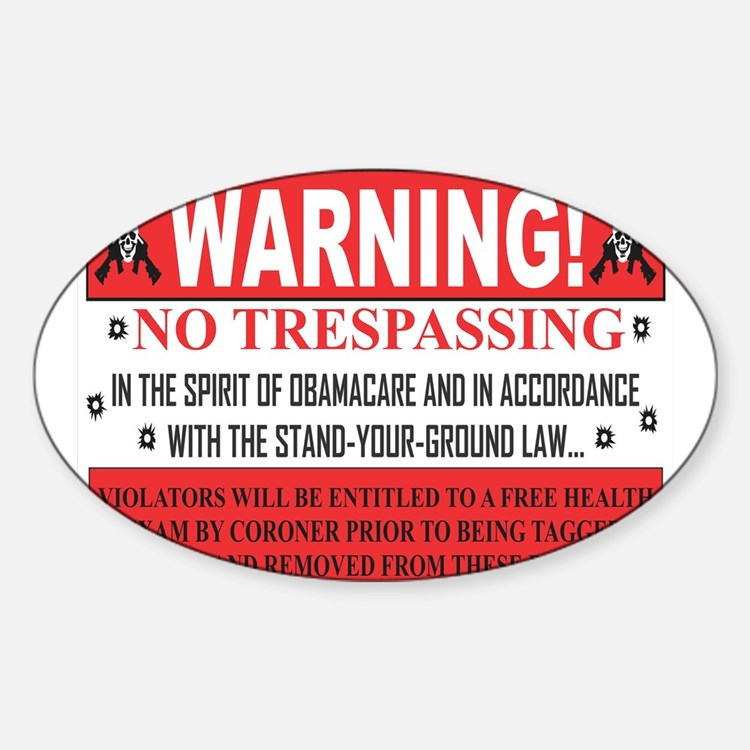 'The Obamacare -- Stand Your Ground' Decal