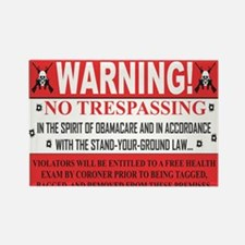 'The Obamacare -- Stand Your Ground' Magnets