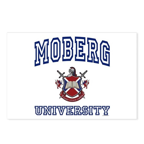 MOBERG University Postcards (Package of 8)