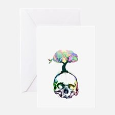 life from death Greeting Cards