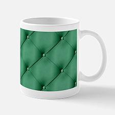 Green Upholstery Pattern Mug