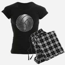 Silver Volleyball Classic Pajamas