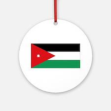 Flag of Jordan Ornament (Round)