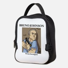 Cute Investigating Neoprene Lunch Bag