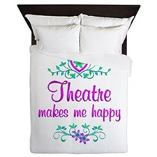 Theatre Happy Queen Duvet