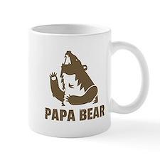 Cool Fierce Brown Papa Bear Daddy Mugs