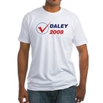 DALEY 2008 (checkbox) Fitted T-Shirt