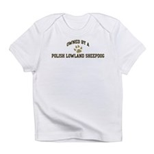 Cute Polish lowland sheepdog design Infant T-Shirt