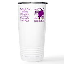 Cute Cow picture Travel Mug