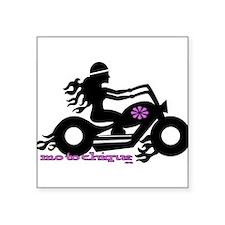"""Cool Ride Square Sticker 3"""" x 3"""""""