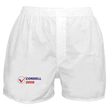 CORDELL 2008 (checkbox) Boxer Shorts