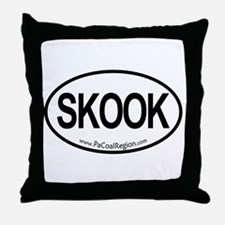 Skook Throw Pillow