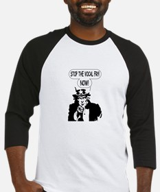 Uncle Sam Stop The Vocal Fry Baseball Jersey