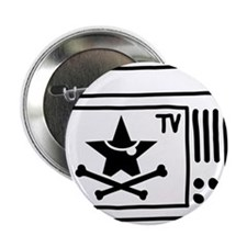 "Pirate TV 2.25"" Button (10 pack)"