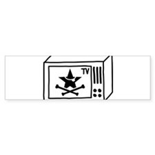 Pirate TV Bumper Bumper Sticker