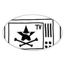 Pirate TV Decal