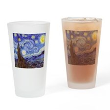 Starry Night Van Gogh Drinking Glass