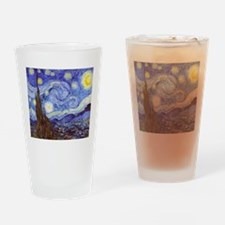 Starry Night Van Gogh Drinking Glass