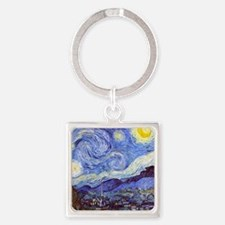 Starry Night Van Gogh Keychains