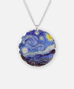 Starry Night Van Gogh Necklace