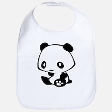 Kawaii Panda Bib
