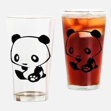 Kawaii Panda Drinking Glass