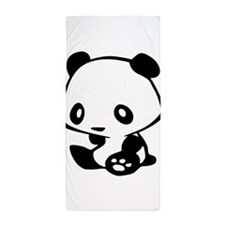 Kawaii Panda Beach Towel