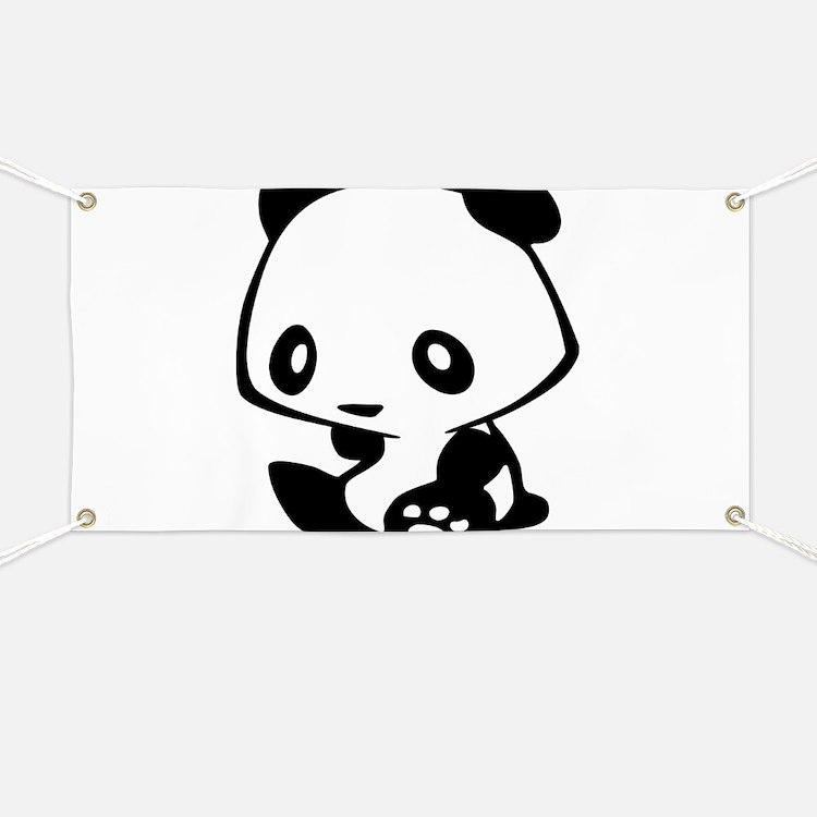 Kawaii Panda Banner