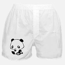 Kawaii Panda Boxer Shorts