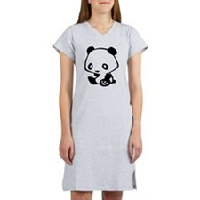 Kawaii Panda Women's Nightshirt
