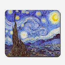 Starry Night Van Gogh Mousepad