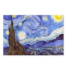 Starry Night Van Gogh Postcards (Package of 8)