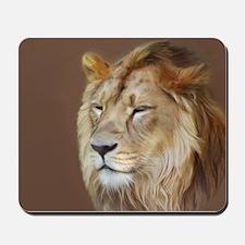 Painting Lion Mousepad