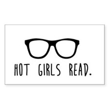 Hot Girls Read Bumper Stickers