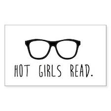 Hot Girls Read Stickers