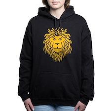 Trible Tattoo Lion Women's Hooded Sweatshirt