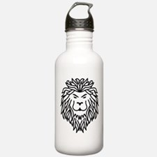 Trible Tattoo Lion Water Bottle