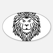 Trible Tattoo Lion Decal