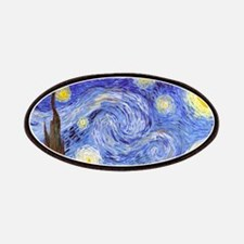 Starry Night Van Gogh Patches