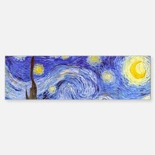 Starry Night Van Gogh Bumper Bumper Bumper Sticker