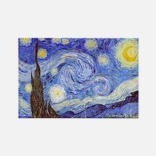 Starry Night Van Gogh Magnets