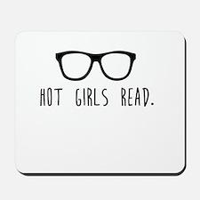 Hot Girls Read Mousepad