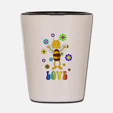 Love Bee Shot Glass