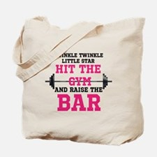 Raise the Bar Tote Bag