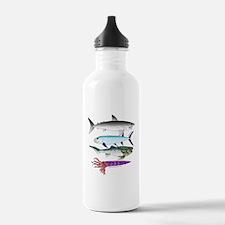 4 Extinct Sea Monsters Water Bottle