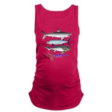 4 Extinct Sea Monsters Maternity Tank Top