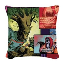 Gotg Groot Woven Throw Pillow