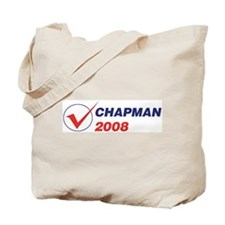 CHAPMAN 2008 (checkbox) Tote Bag
